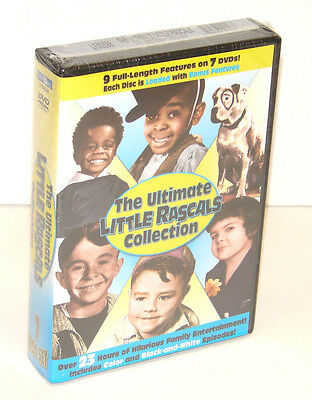 The Ultimate Little Rascals Collection 7 DISC DVD SET  NEW FACTORY SEALED