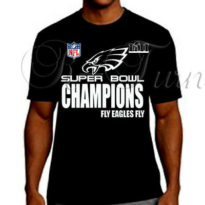 2018 PHILADELPHIA EAGLES SUPER BOWL Championship locker room type t-shirt tee  c