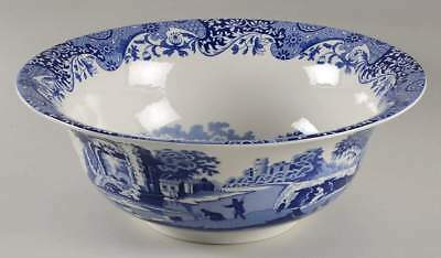 Spode BLUE ITALIAN 200 Anniversary Salad Serving Bowl 10843624