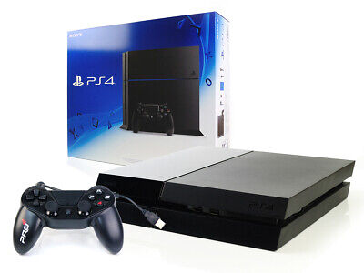 SONY PS4 Konsole 500GB +NEUER Subsonic Controller Jet Black - Playstation 4