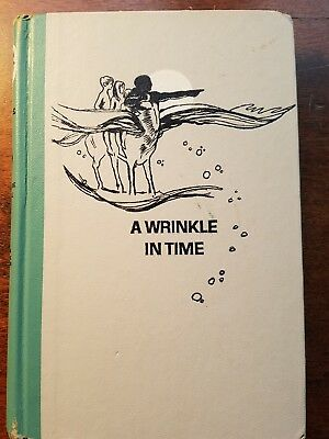 A Wrinkle in Time by Madeline LEngle Vintage Junior Deluxe 1962 Edition