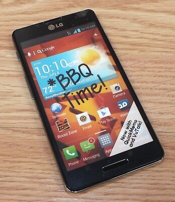 LG Black Smartphone Touch Screen Style Fake Dummy Phone Only READ