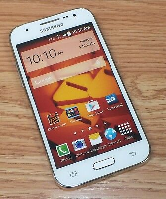 Samsung Galaxy Prevail LTE White Smartphone Style Fake Screen Display Phone ONLY