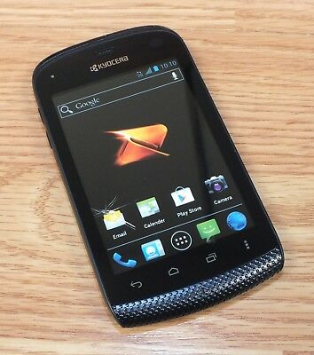 Kyocera Boost Mobile Touchscreen Style Fake Screen Dummy Phone Only READ