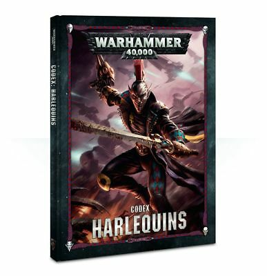 Warhammer 40K Harlequins Codex Hardcover 8th Edition NEW