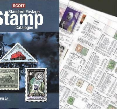 China ALL 2019 Scott Catalogue Pages 297-488