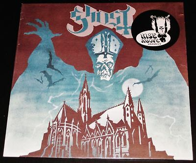Ghost Opus Eponymous LP Green Marble Color Vinyl Record 2010 Rise Above UK NEW