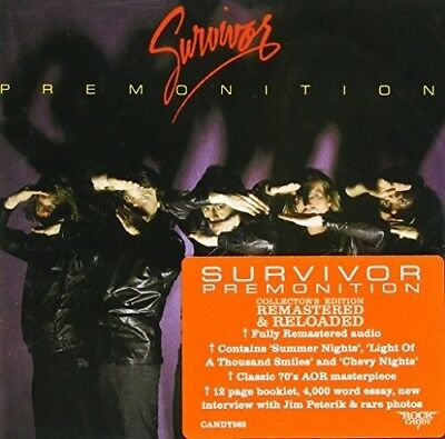 Survivor - Premonition New CD