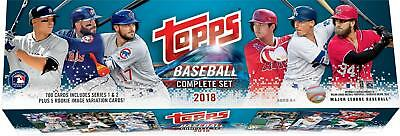 2018 Topps Baseball Retail Complete 705 Card Set - Includes Hoskins - Ohtani