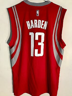 Adidas NBA Jersey Houston Rockets James Harden Red sz XL