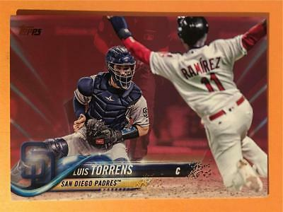 2018 Topps Series 2 Mothers Day Pink Parallel 403 Luis Torrens Padres 2450