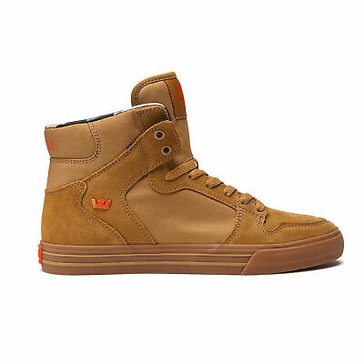 Supra Skateboard Shoes Vaider Tan-Light Gum