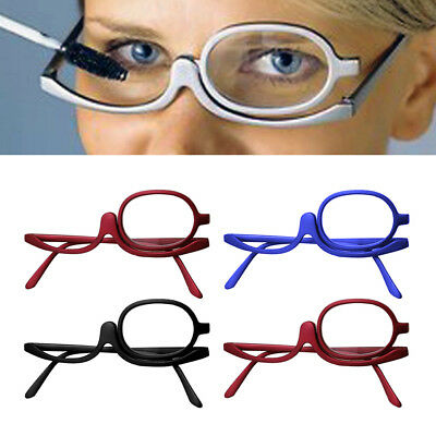 Magnifying Glasses Makeup Reading Glass Folding Eyeglasses Cosmetic -1 to -4-0