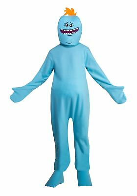 Adult Rick and Morty Mr- Meeseeks Costume