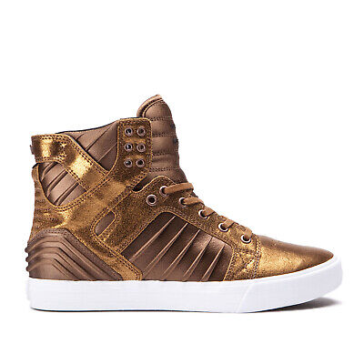 Supra Skateboard Shoes Skytop Evo Copper-White