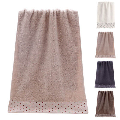 Soft Soothing Microfiber Face Towel Cleaning Wash Cloth Bath Hand Towel 34x72cm