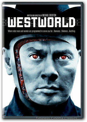 Westworld DVD New Yul Brynner Richard Benjamin James Brolin Norman Bartold