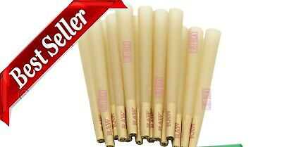 RAW Cones King Size Authentic Pre-Rolled Cones 200 w Filter 200 Pack