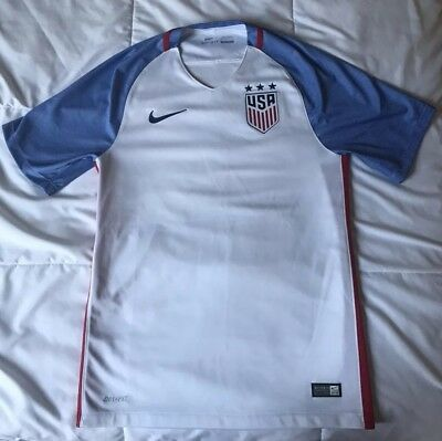 Nike Dri-Fit USMNT USA 2016 World Cup Soccer Jersey Men's Small
