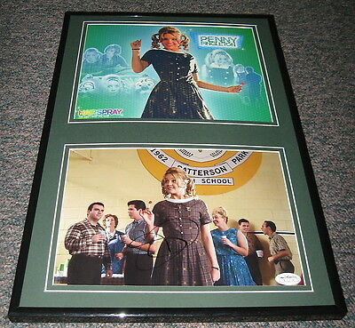 Amanda Bynes Signed Framed 12x18 Photo Set JSA Hairspray