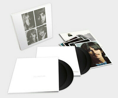 The Beatles - The Beatles The White Album New Vinyl Oversize Item Spilt 180