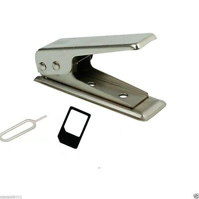 New MicroStandard to Nano SIM Card Cutter For Apple iPhone 4 5 6 - Adapters