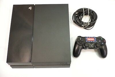 Sony PlayStation 4 500GB Console - Jet Black - Model CUH-1115A