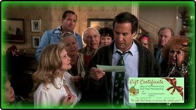 National Lampoons Christmas Vacation Jelly Of The Month Club Certificate 3