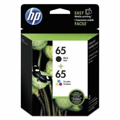 HP 65 2pack Combo Ink Cartridges 65 Black and Color NEW GENUINE
