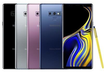 Samsung Galaxy Note 9 SM-N960U 128GB GSMCDMA Unlocked T-Mobile AT-T Verizon