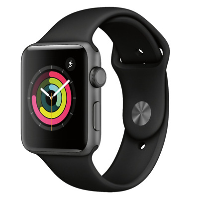 Apple Watch Series 3 GPS 42mm Space Gray Aluminum Case MTF32LLA