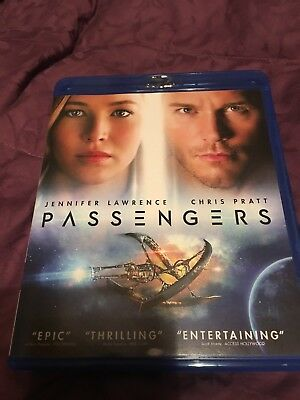 Passengers - Blu-ray - Jennifer Lawrence Chris Pratt