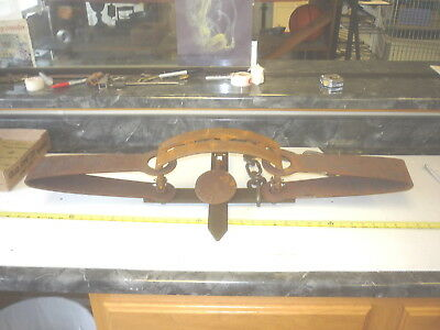 3 FOOT LONG    TRAP  TRAPPING  TOOL  MOUNTAIN  MAN  CAVE  CABIN Bear