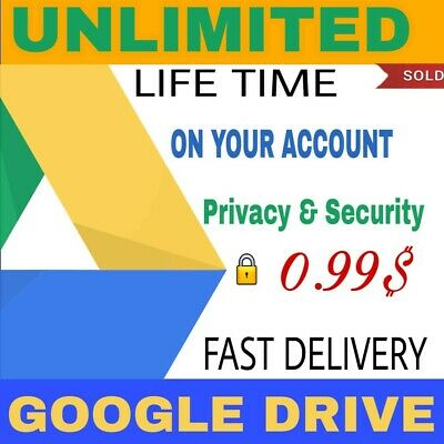 Unlimited google drive storage lifetime not edu🌟on existing acc buy 3 win 3fre
