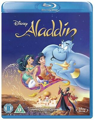 ALADDIN 1992 Robin Williams Blu-Ray BRAND NEW Free Ship