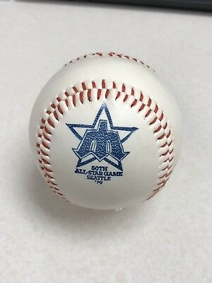 1979 All Star Game Baseball Seattle Mariners Coca Cola Commemorative ball