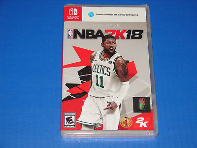 NBA 2K18 Nintendo Switch Game BRAND NEW FACTORY SEALED   SHIPS FAST