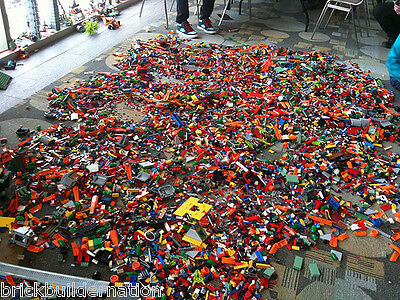 ☀️New 1 to 1000 POUNDS LB of LEGO LEGOS PIECES FROM HUGE BULK LOT PARTS  RANDOM