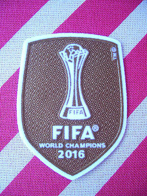 Parche Mundialito FIFA World Champions 2016 Mundial Clubes camiseta Real  Madrid 653a93eb67c33