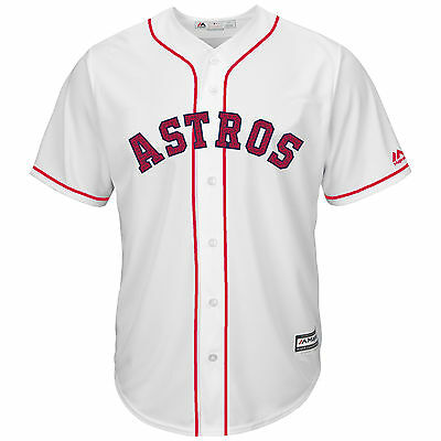 Carlos Correa Houston Astros 2016 4th of July Cool Base Jersey M