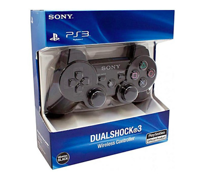 Sony PS3 Wireless Dualshock 3 Controller Gamepad - Black US Fast Shipping