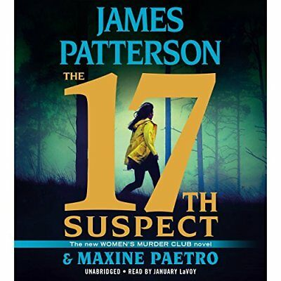 Womens Murder Club 17Th Suspect by James Patterson 2018 Hardcover