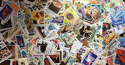 Lot H 100 Different ALL LARGECOMMEMORATIVE Worldwide Stamp Collection