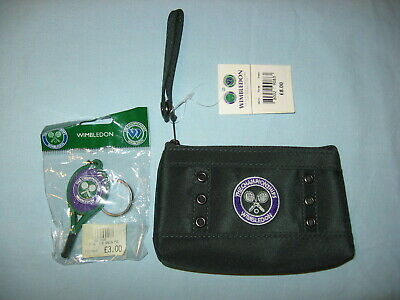 Wimbledon The Championships Clutch Purse Wristlet -  Keyring New with Tag