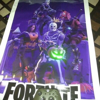 Fortnite Battle Royale  Save The World RARE EXCLUSIVE poster- In good condition