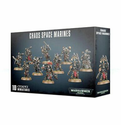 Warhammer 40K Chaos Space Marines Squad New Pre Order