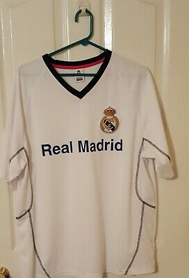 XL White Real Madrid Jersey