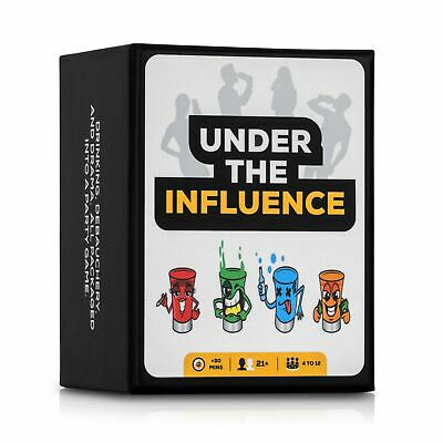 Under The Influence: Fun Adult Drinking Games - Party Card Game with 200 Cards