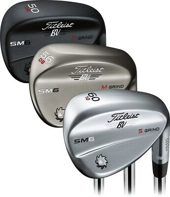 Brand New Titleist SM6 Wedge - Choose Finish - Loft AW SW LW -