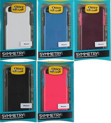 OEM Otterbox Symmetry Case Cover For Apple iPhone 66S-4-7Verizon AT-T Sprint